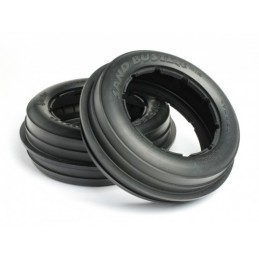 Sand buster rib tire