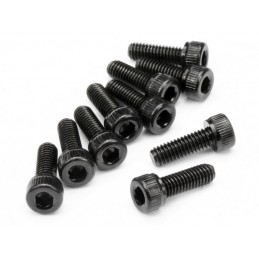 CAP HEAD SCREW M4x12mm (10pcs)