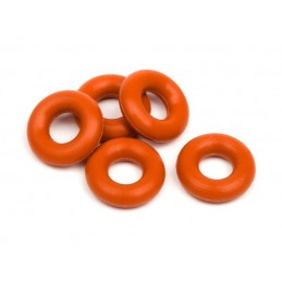 SILICONE O-RING P-3 (RED/5pcs)