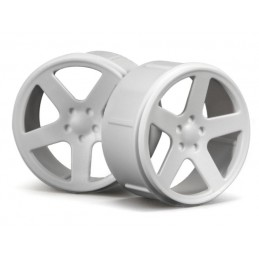 WHEEL SET (WHITE/MICRO RS4)