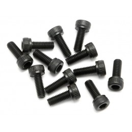 CAP HEAD SCREW M3x8mm (12pcs)