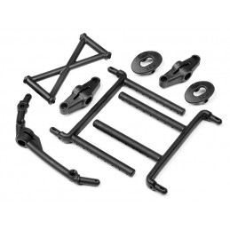BODY MOUNT SET (FRONT/REAR) 5T