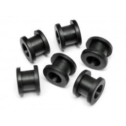 RUBBER BUSHING 6x9x10mm (6pcs)