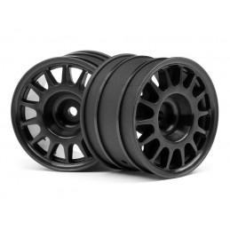WR8 RALLY OFF-ROAD WHEEL BLACK