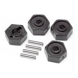 Wheel Hex Adaptors w/Pins...