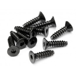 TP. FLAT HEAD SCREW M4x15mm