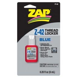 ZAP Z-42 Skruvlås Blå 6ml