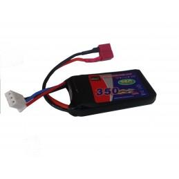 Batteri-7.4v 350mah LiPo...