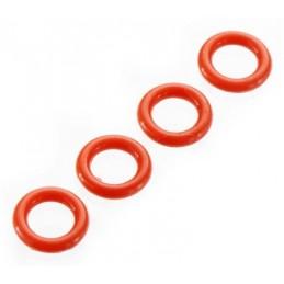 O-Ring P-5 4.5x1.5mm Röd (4)