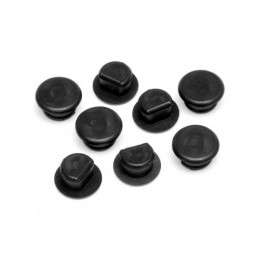 RUBBER CAP 6X5MM