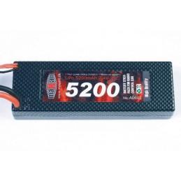 LIPO 7,4V 5200MAH 35C T-PLUG